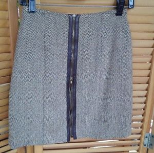 Vtg Cache Tweed 🍁 Mini Skirt
